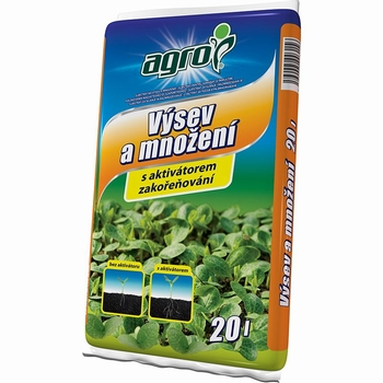 AGRO supstrat za sjetvu i razmnožavanje biljaka - 20  lit.