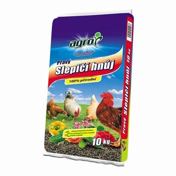AGRO gnojivo - kokošiji stajnjak - 10 KG  kom
