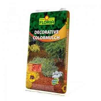 FLORIA dekorativni bojeni malč 70 L  kom