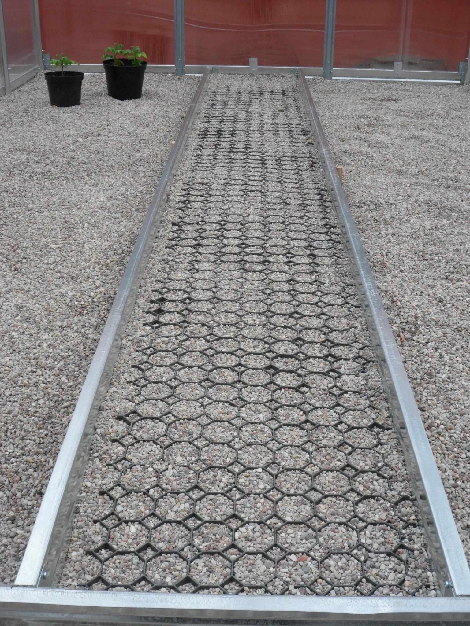 PVC podna rešetka TIP 1 - 475 x 475 x 40 mm - zelena   kom
